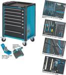 Dielenský vozík s profi náradím, 220 nástrojov