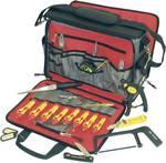 Taška na náradie s 18-dielnou profesionálnou sadou pre elektrikárov