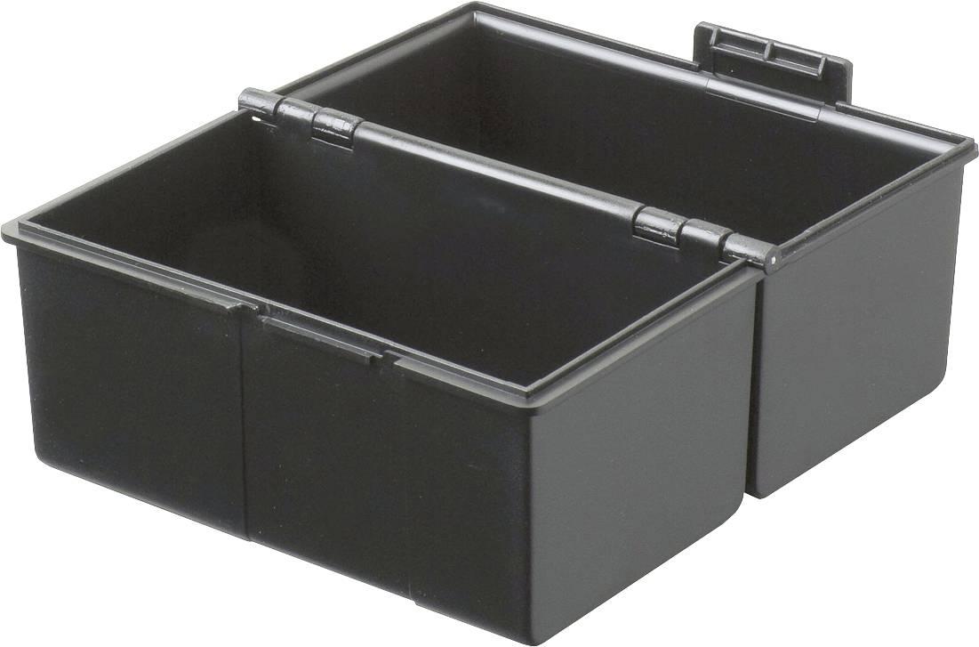 HAN Škatla za kartice DIN A6 horizontalen/976-13 črna, plastika