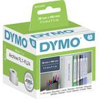 DYMO etikete v roli 99018 S0722470 38 x 190 mm papir bela 110 kos trajno nalepke za fascikle