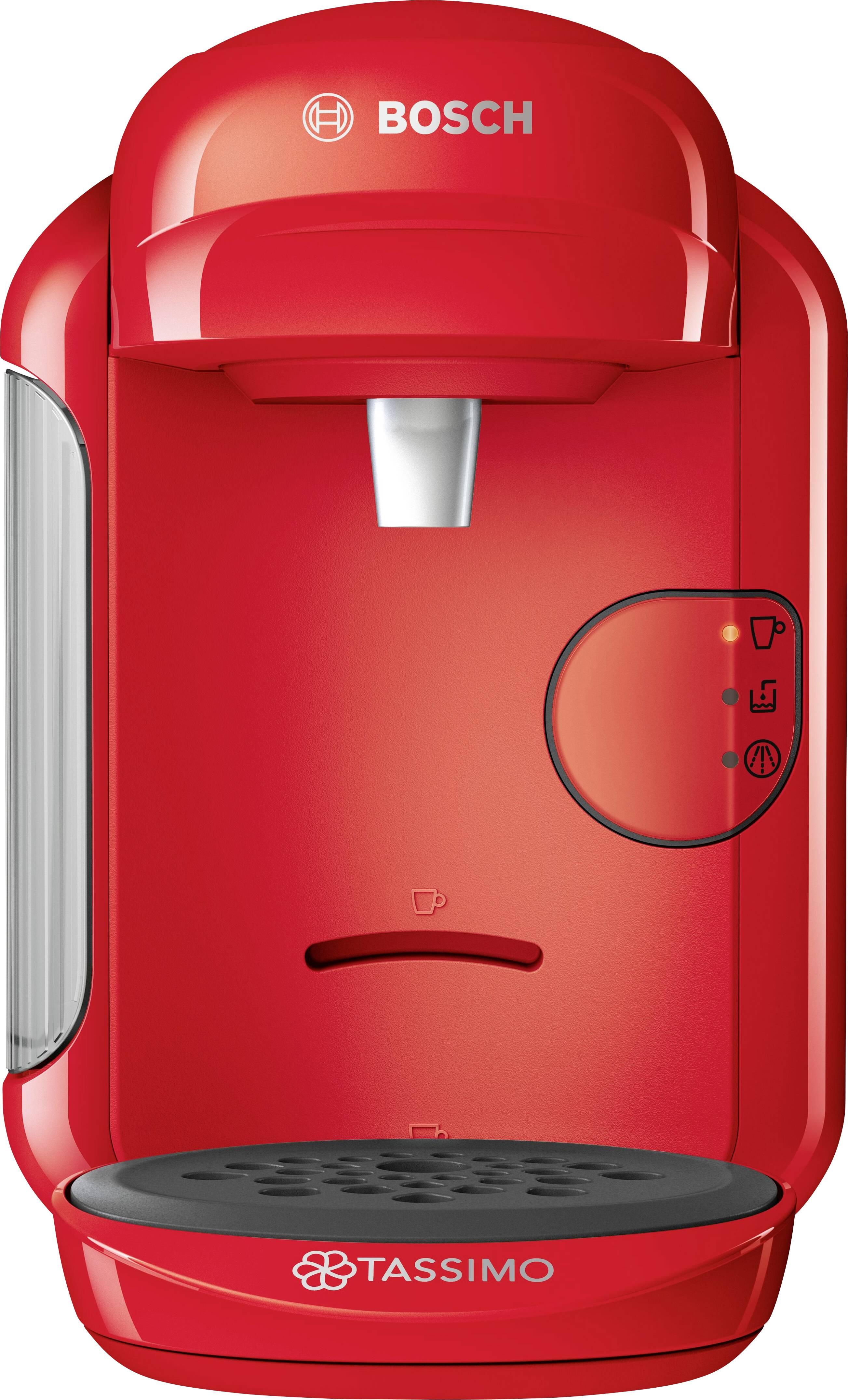 Bosch Haushalt Tassimo VIVY 2 TAS1403 kavni avtomat na kapsule rdeča one touch