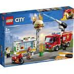 60214 LEGO® CITY Gasilska služba v restavraciji s hamburgerji