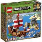 21152 LEGO® MINECRAFT Avantura piratske ladje