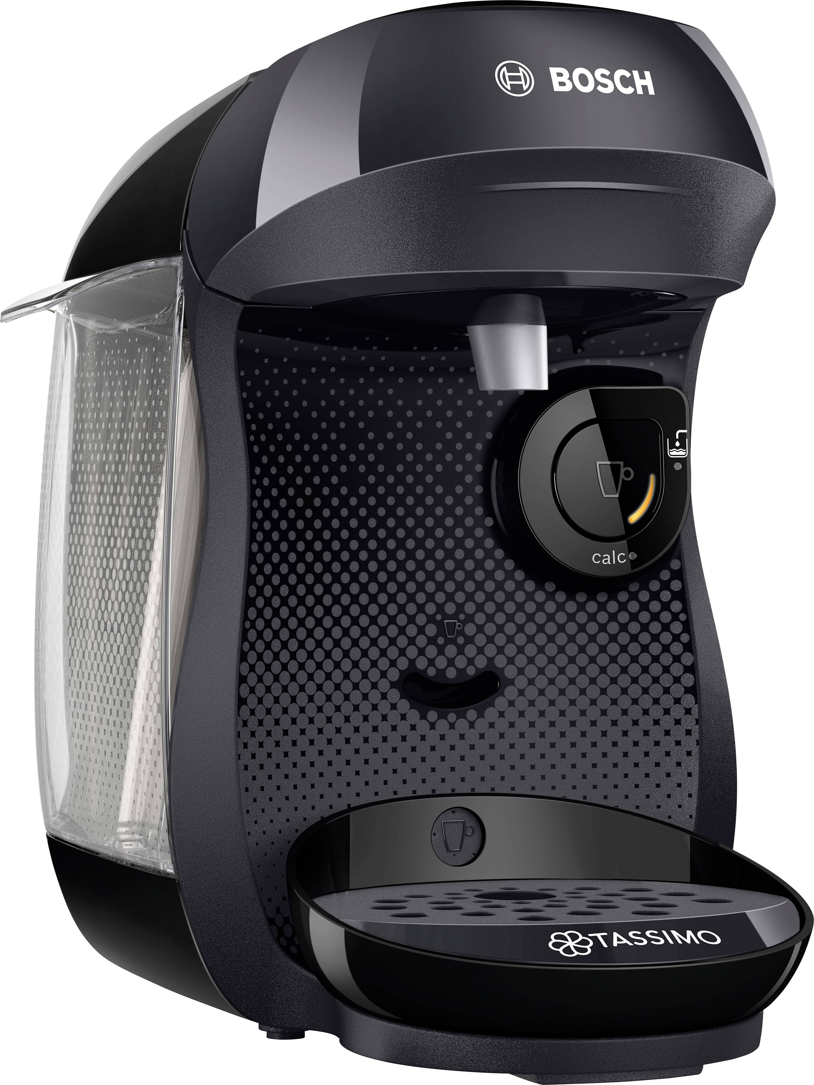 Bosch Haushalt Happy TAS1002 kavni avtomat na kapsule črna