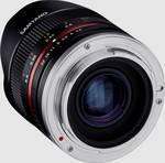 Samyang MF 8mm F2.8 Fisheye II APS-C Canon M črna