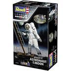 Revell 03702 Apollo 11 Astronaut on the Moon model vesoljskega plovila, komplet za sestavljanje 1:8