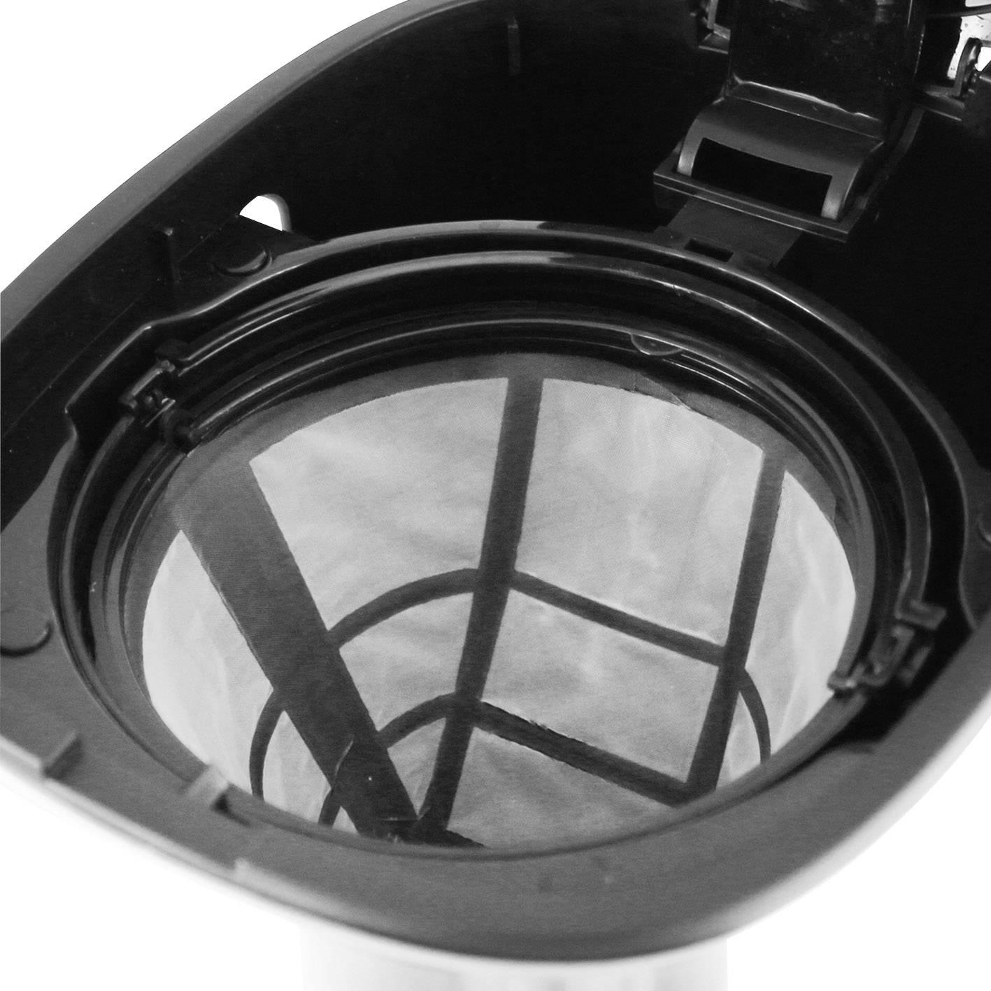 EMERIO CME-111063 kavni aparat legirano jeklo, črna  Kapaciteta skodelice=6