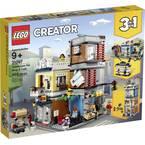 31097 LEGO® CREATOR Mestna hiša s trgovino z živalmi in kavarno