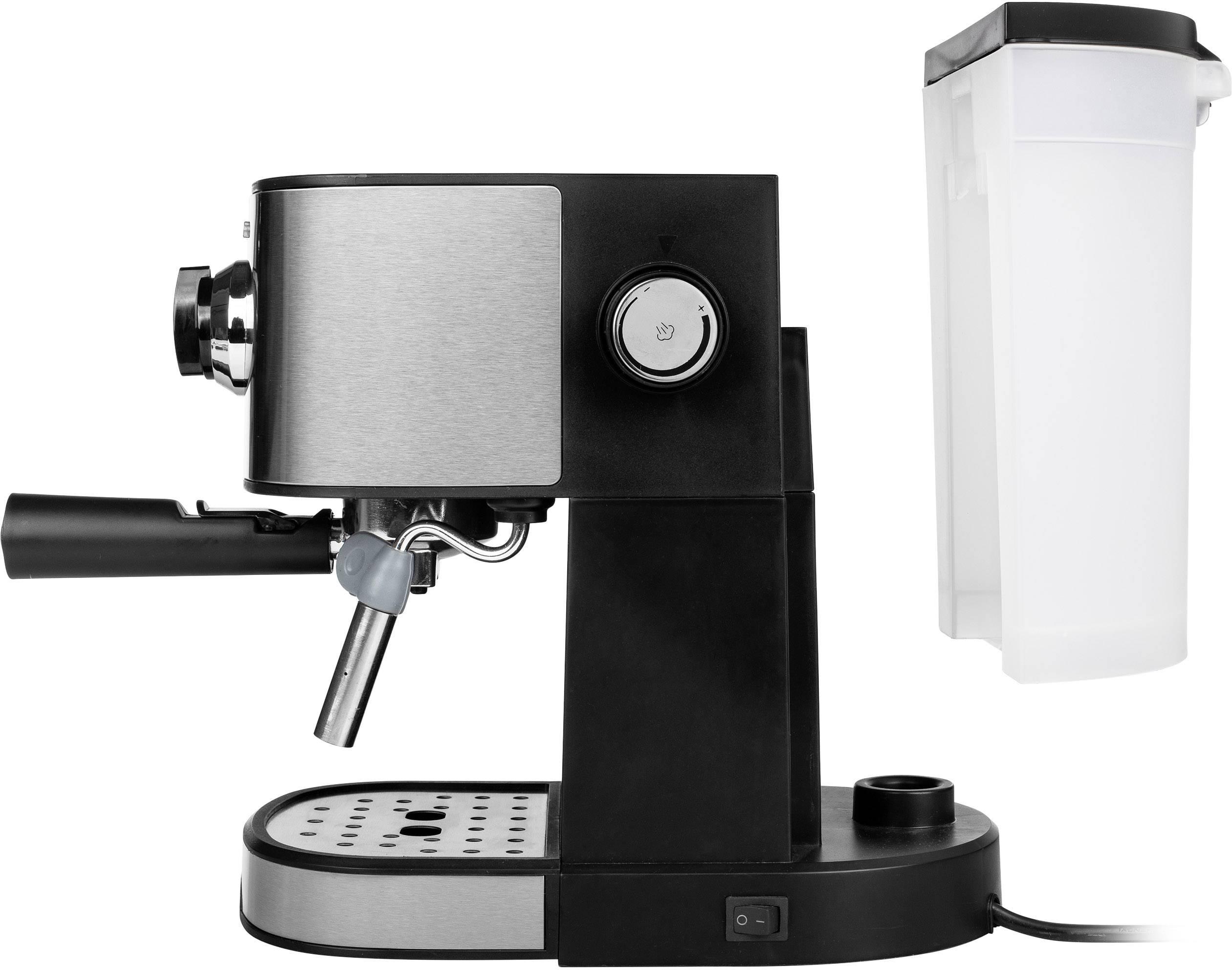 Tristar CM-2275 avtomat za espresso z držalom za filter legirano jeklo, črna 750 W
