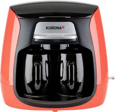 Korona 12208 kavni aparat rdeča, črna  Kapaciteta skodelice=2