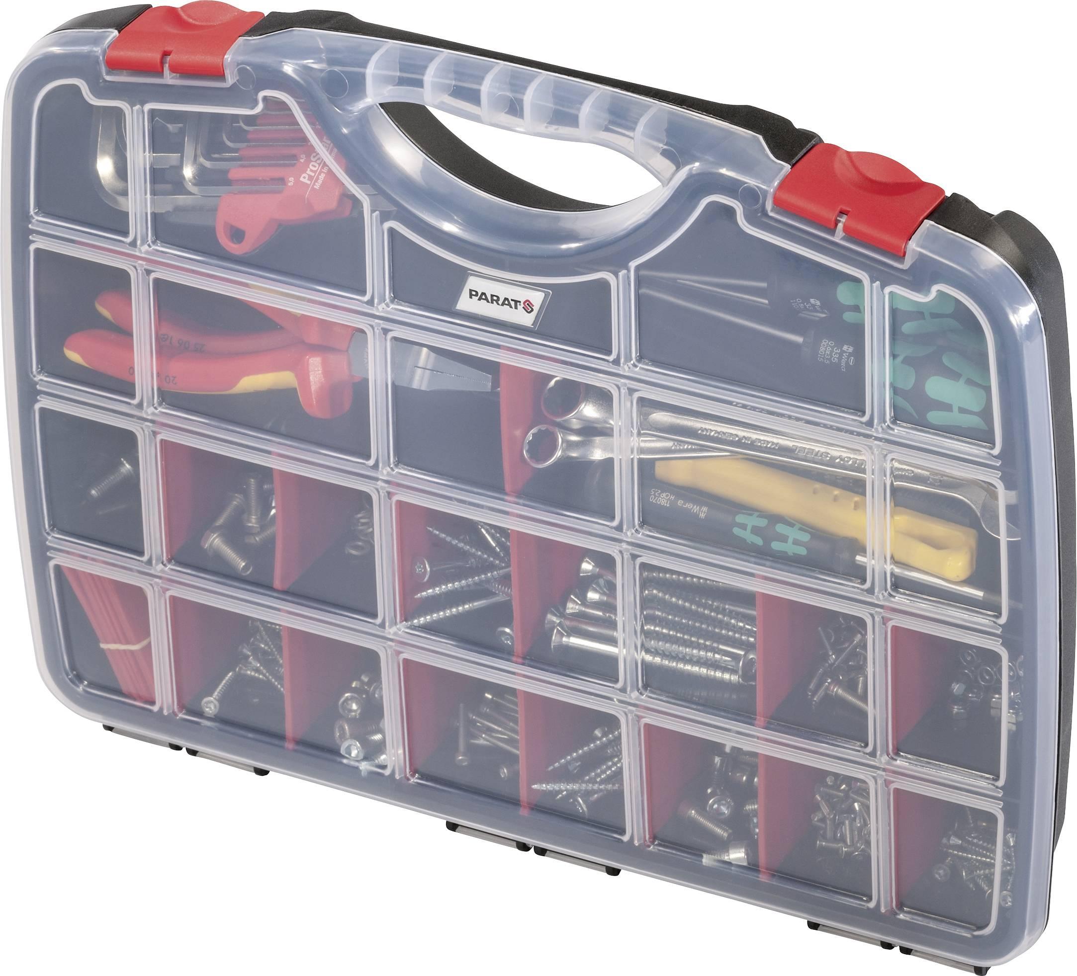 Parat PROFI-LINE Organize S sortirni kovček (Š x V x G) 390 x 290 x 60 mm Število predalov: 26   1 kos
