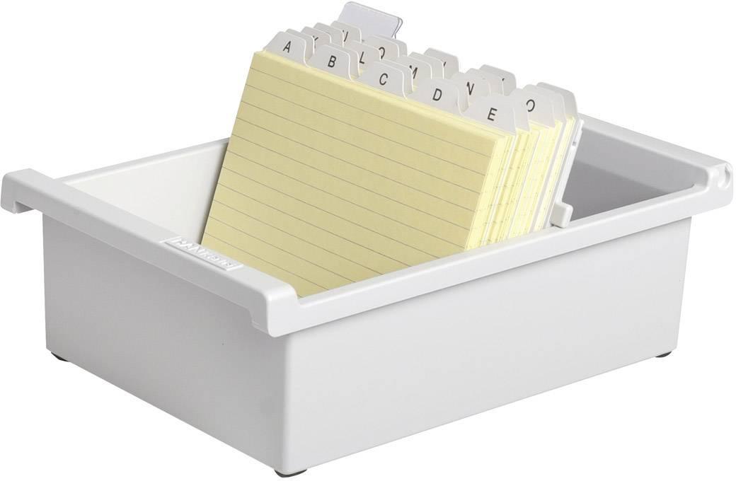 HAN  965-0-11 nosilec za kartice svetlo siva Maks. število kartic: 800 kartic din a5 prečno