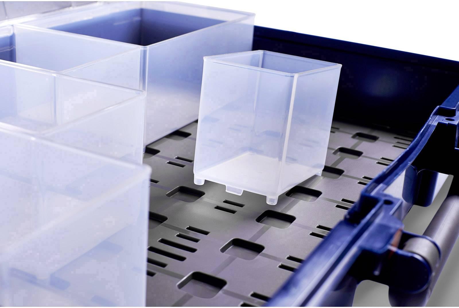raaco CL LMS 80 5x10-0/DLU sortirni kovček (Š x V x G) 413 x 83 x 330 mm    1 kos