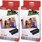 Canon KP-36IP (2x) 7737A001-1 kartuša za foto tiskalnik (črnilo/papir) 1 set