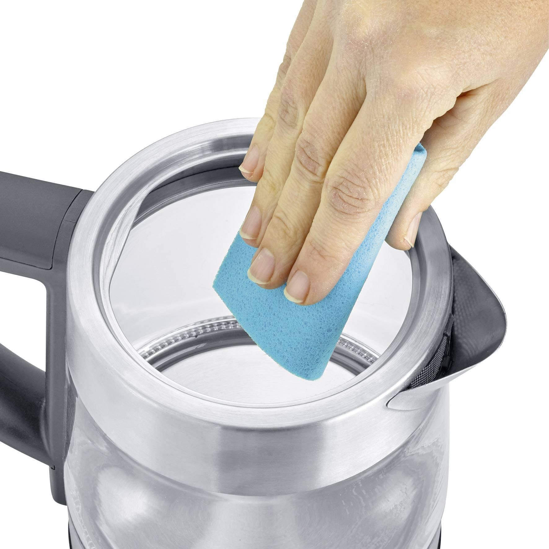 Severin WK 3473 kuhalnik čaja steklo, legirano jeklo