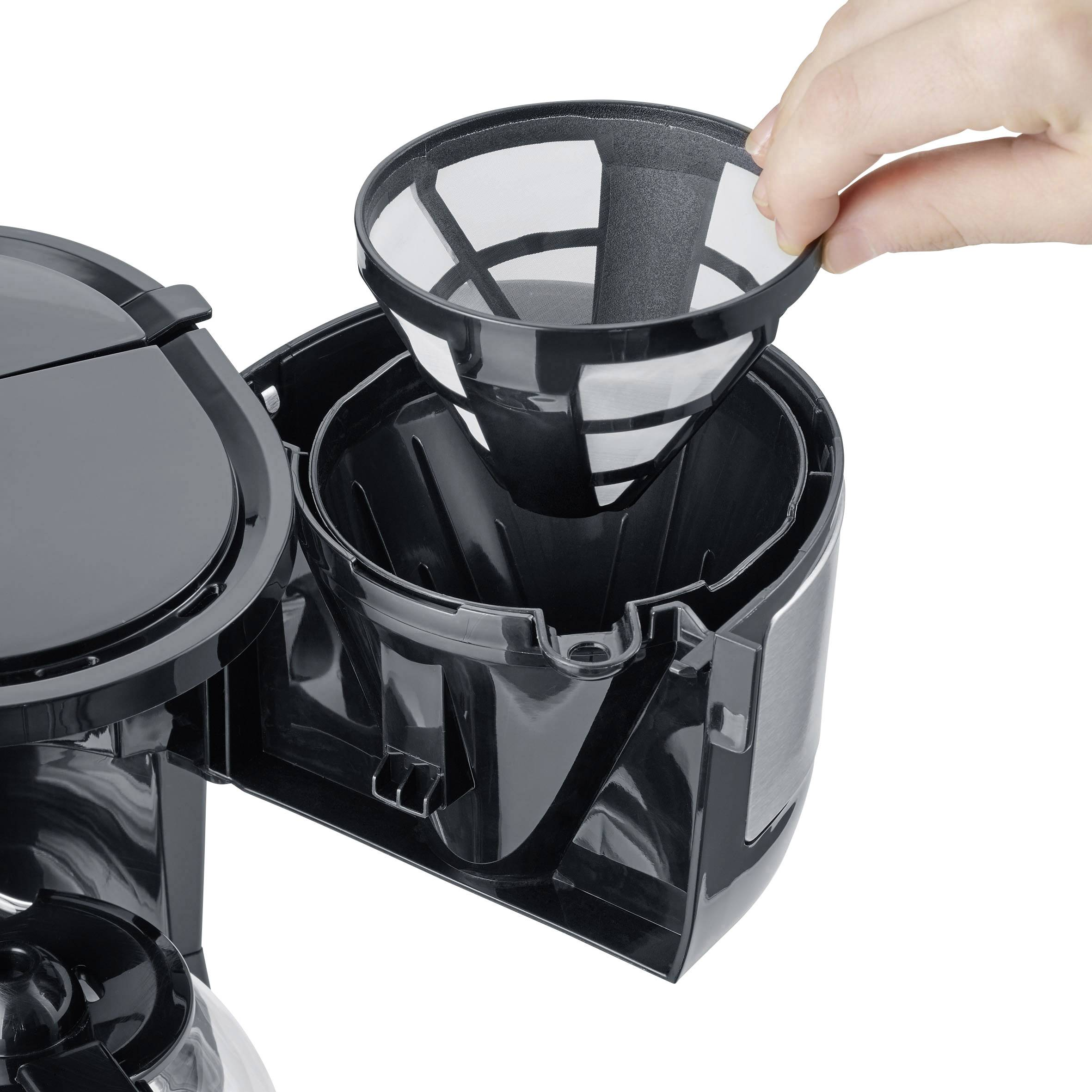 Severin KA 4808 kavni aparat črna  Kapaciteta skodelice=4