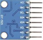 Joy-it MPU6050 senzor pospeška 1 kos Primerno za: micro:bit, Arduino, Raspberry Pi, Rock Pi, Banana Pi, C-Control, Calliope