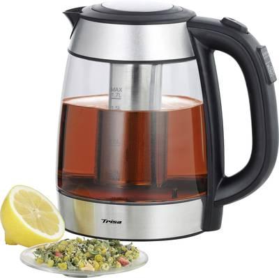Trisa Perfect Tea kuhalnik čaja steklo, legirano jeklo, črna