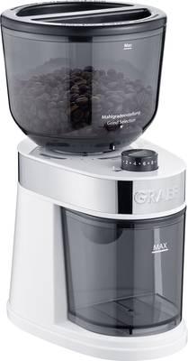 Graef CM201EU CM201EU mlinček za kavo bela nerjaveči mlinček s ploščatim rezilom