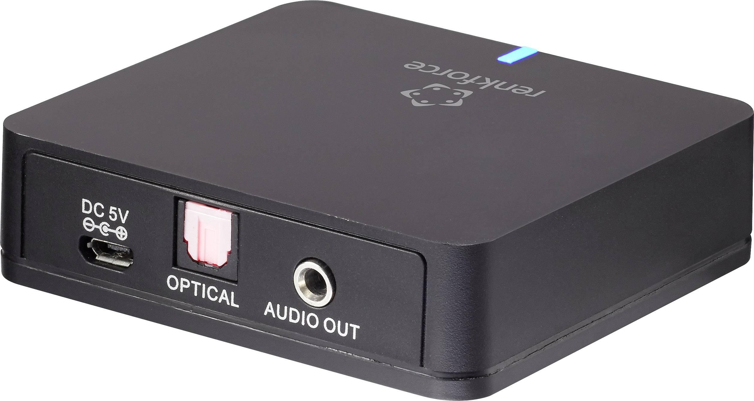 Renkforce  Bluetooth® sprejemnik glasbe Bluetooth: 5.0 20 m aptx-tehnologija