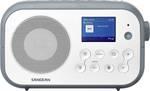 Sangean Traveller-420 (DPR-42 H/S.B.) prenosni radio DAB+, UKW Bluetooth bela, kamena