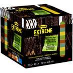 Post-it lepljiv opomnik EXT33M-12-FRGE 76 mm x 76 mm  zelena, rumena, oranžna, turkizna 540 List