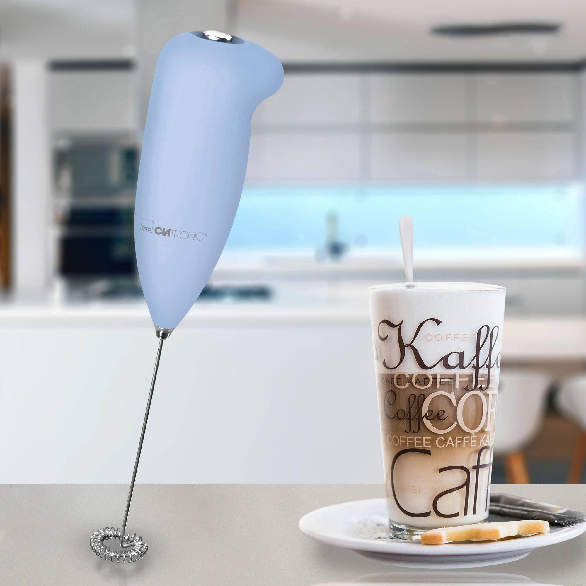 Clatronic MS 3089 M 263917 naprava za penjenje mleka svetlo modra