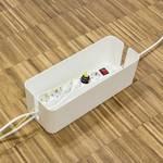 LogiLink KAB0063 KAB0063 ohišje za kable 133.5 x 407 x 157 plastika bela 1 kos
