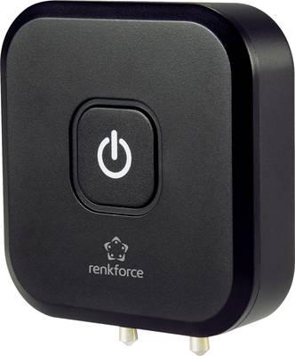 Renkforce RF-BTT-350 Bluetooth® oddajnik glasbe Bluetooth: 4.2 10 m vgrajena akumulatorska baterija