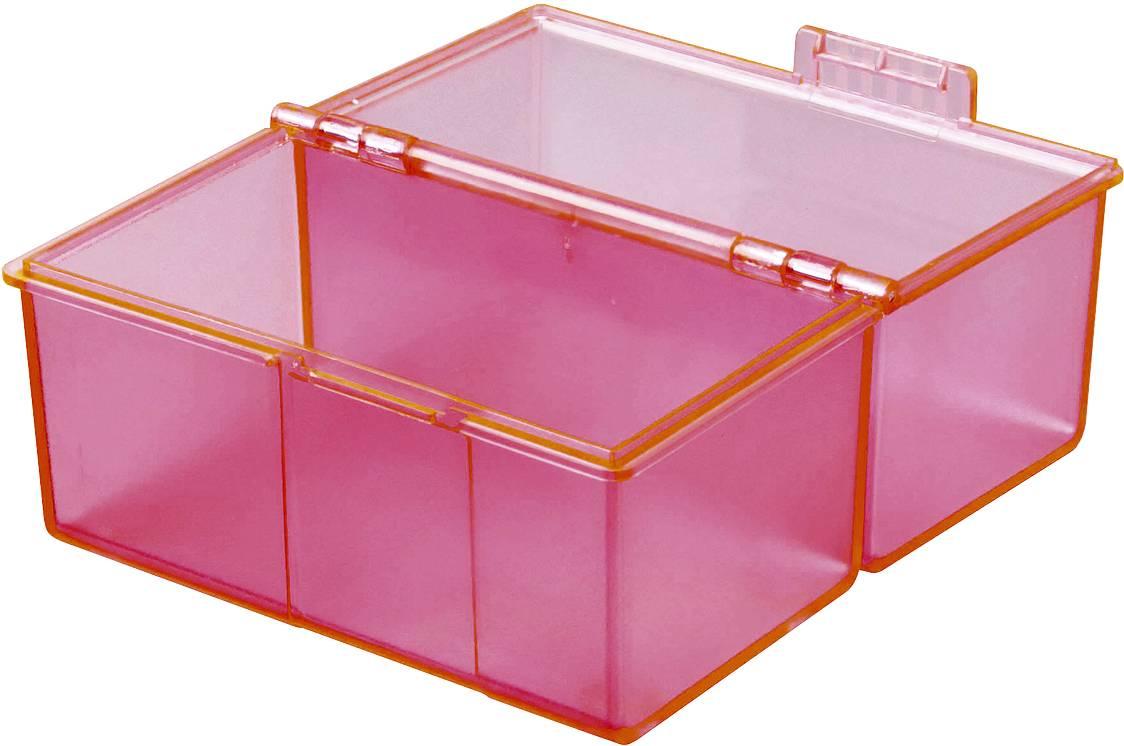 HAN SIGNAL 976-76 škatlica za kartice roza Maks. število kartic: 400 kartic din a6 prečno