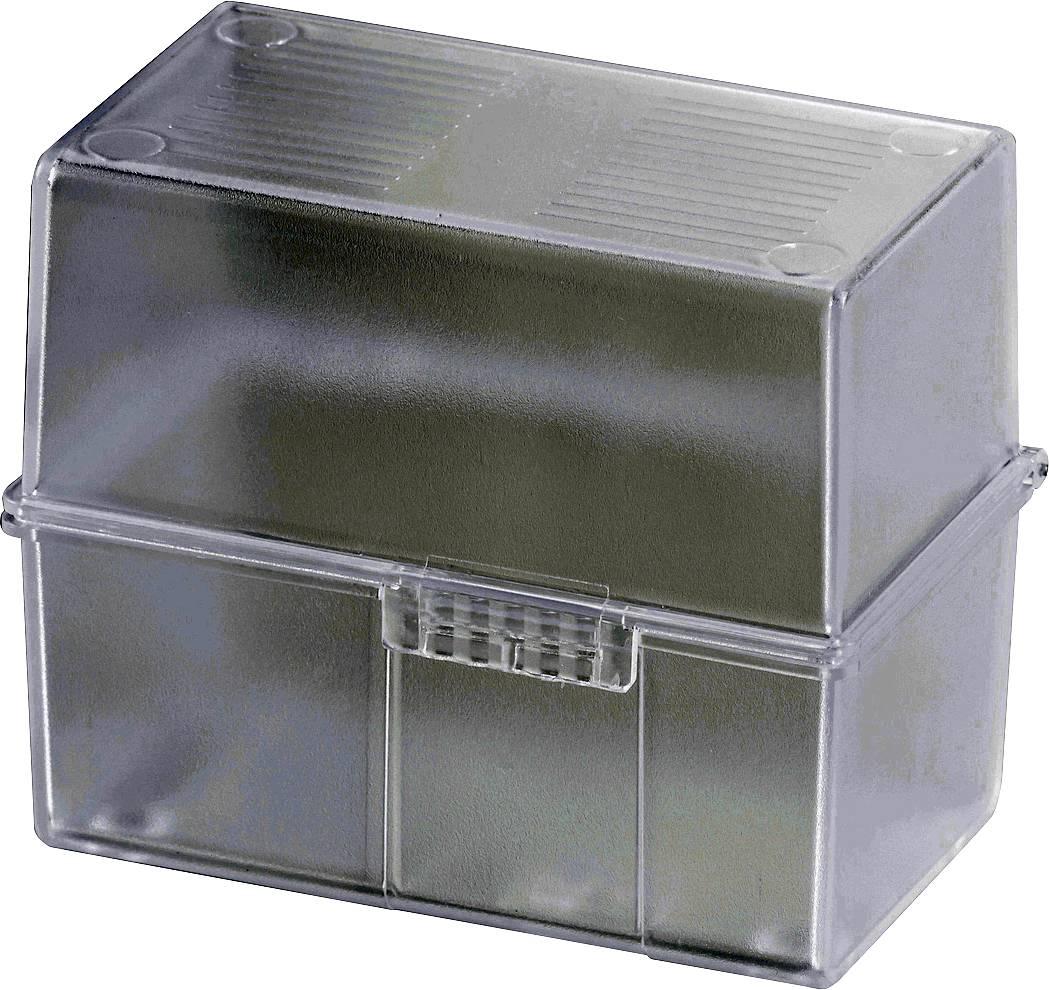 HAN DIN A8 979-63 škatlica za kartice translucentna, čista Maks. število kartic: 200 kartic din a8 prečno vključ. s 100