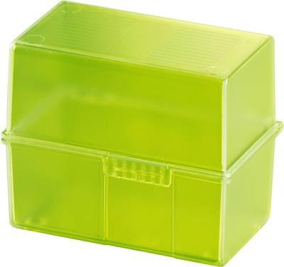 HAN SIGNAL 979-70 škatlica za kartice zelena Maks. število kartic: 200 kartic din a8 prečno vključ. s 100 črtastimi kart