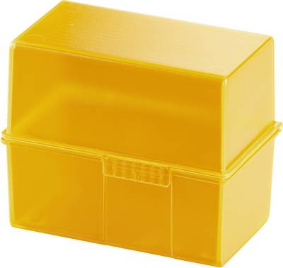 HAN SIGNAL 979-71 škatlica za kartice oranžna Maks. število kartic: 200 kartic din a8 prečno vključ. s 100 črtastimi kar