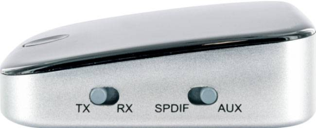 Schwaiger DAR100 513 Bluetooth® glasbeni oddajnik/sprejemnik Bluetooth: 4.1 10 m vgrajena akumulatorska baterija