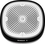 Pure StreamR Splash glasovno voden zvočnik fm radio, uporaba na prostem, vodoodporen, WLAN siva