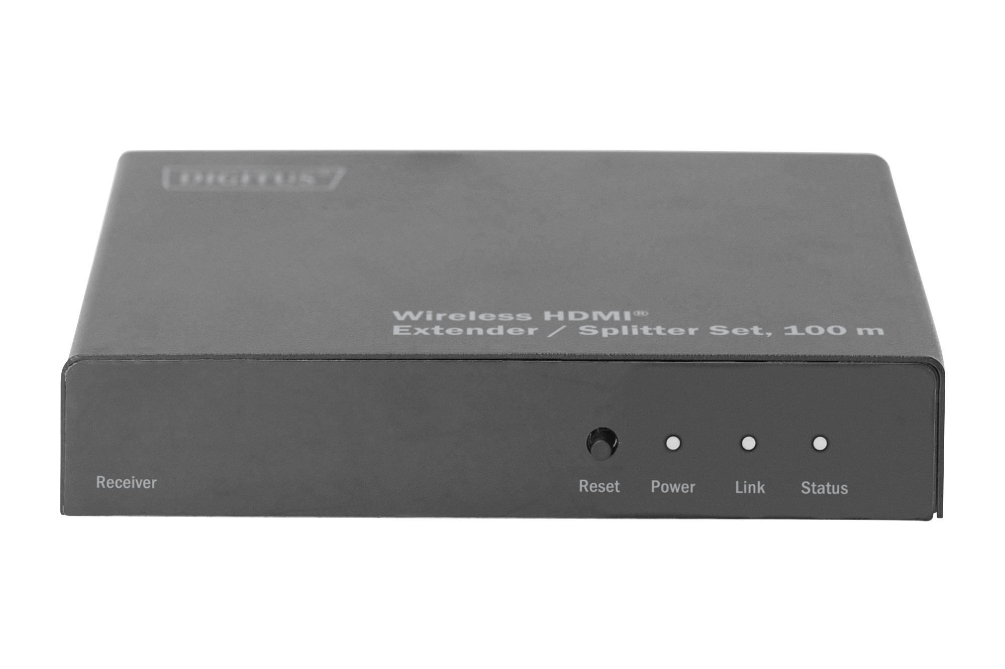 Digitus DS-55315 HDMI naprava za brezžični prenos (sprejemnik) 100 m 5 GHz 1024 x 720 piksel, 1080 x 720 piksel, 1200 x