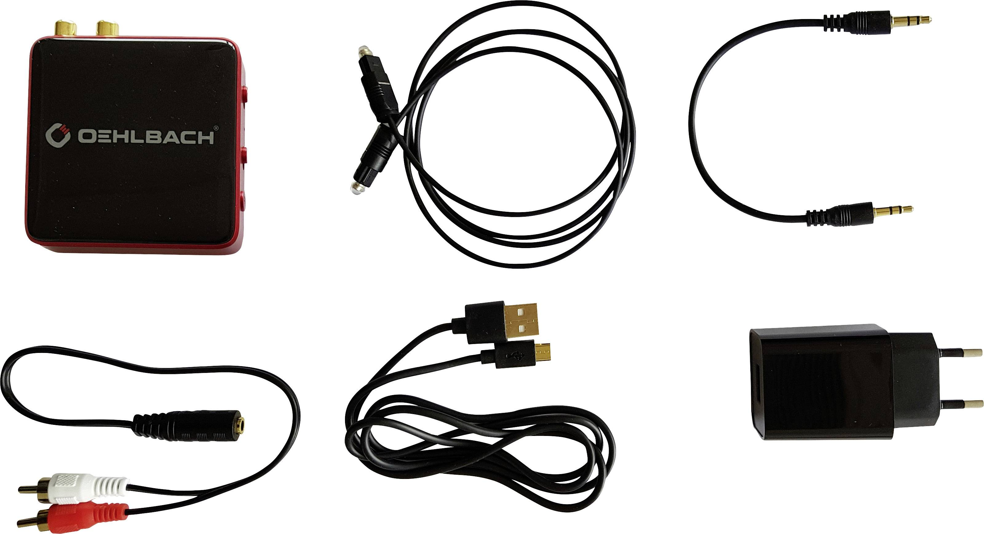 Oehlbach BTR Evolution 5.0 Bluetooth® glasbeni oddajnik/sprejemnik Bluetooth: 5.0 10 m aptx-tehnologija