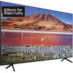 Samsung GU75TU7079 LED-TV 189 cm 75 palec EEK G (A - G) DVB-T2, dvb-c, dvb-s, uhd, smart tv, WLAN, ci+ črna
