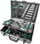 Ohišje za orodje iz aluminija, opremljeno, 133 kosov.