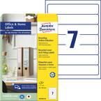 Avery-Zweckform nalepke za fascikle LR4760-10 38 x 192 mm reciklirani papir bela trajno 70 kos