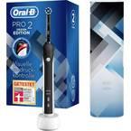 Oral-B Pro2 2500 Design Edition električna zobna ščetka vrtljiva/vibrirajoča/pulzirna črna, bela