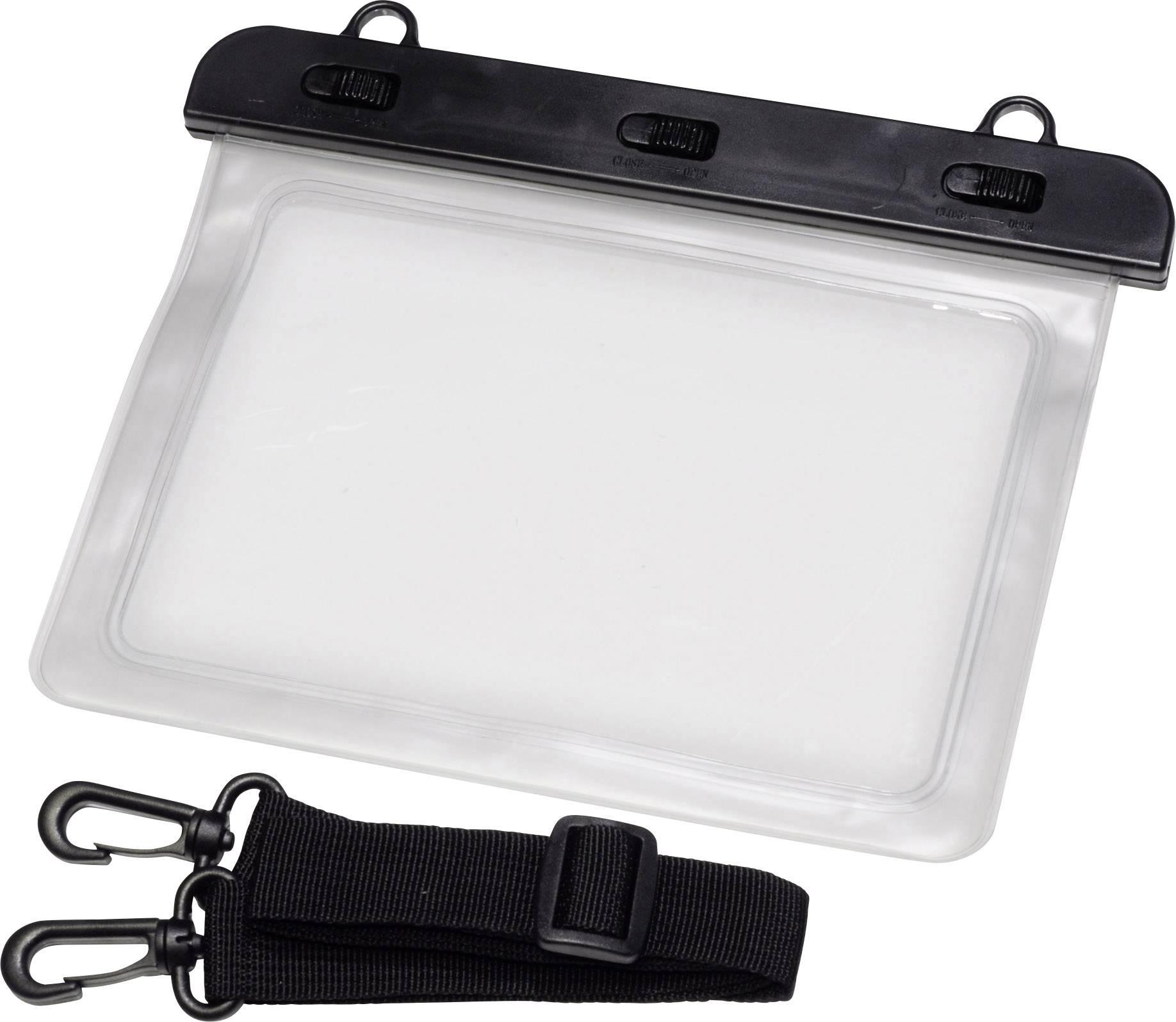 vodoodporna vrečka (Š x V) 220 mm x 160 mm črna, transparentna