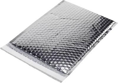koverte z zračnimi žepki (Š x V) 173 mm x 254 mm srebrna plastika