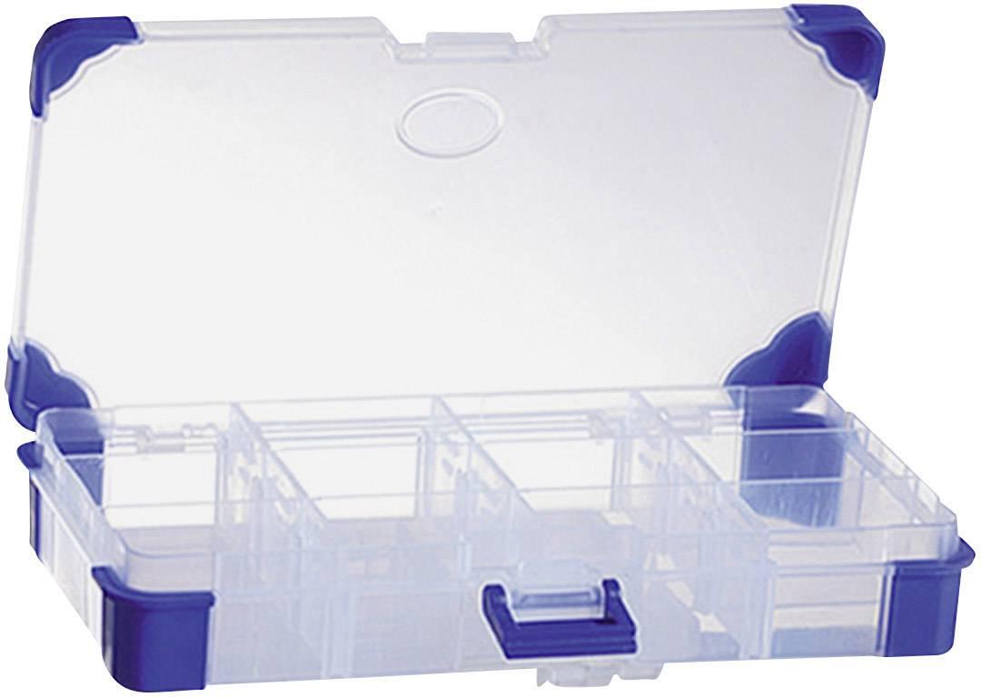 VISO  sortirni zabojnik (D x Š x V) 165 x 90 x 30 mm Število predalov: 12 variabilna pregrada  1 kos