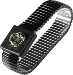 TRU COMPONENTS WristME SET 4-183-K esd zapestni trak črna vklj. ozemljitveni kabel pritisni gumb 4 mm, krokodil sponka