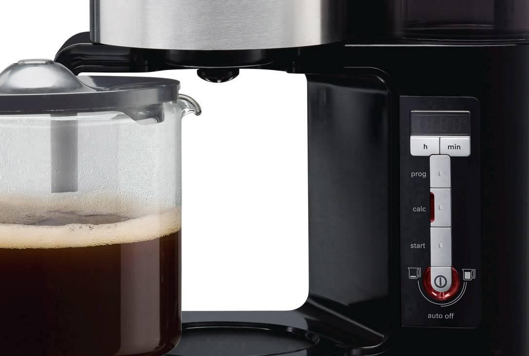 Siemens TC86303 kavni aparat črna, antracitna  Kapaciteta skodelice=15 stekleni vrč, toplotna funkcija
