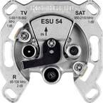 Kathrein ESU 54 antenska vtičnica sat, tv, UKW podometna enojna priključna vtičnica