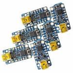 Adafruit razvojna plošča Trinket 6-Pack - 3 x 3.3V and 3 x 5V Trinkets AVR® ATtiny ATtiny85