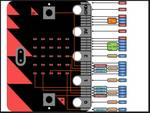 BBC mikro: bitna plošča MB158 enojna