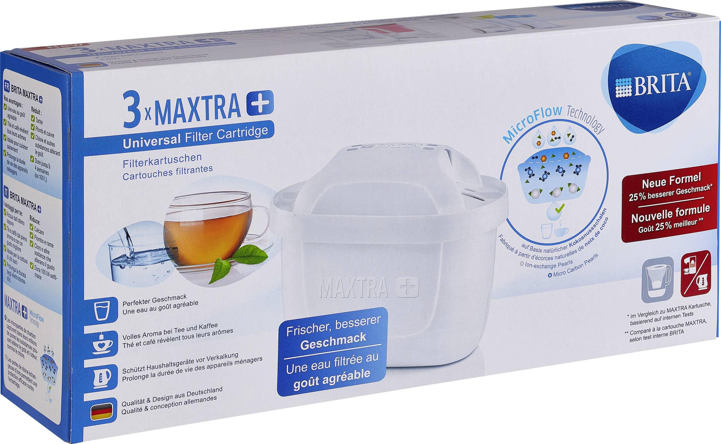 Brita Maxtra + 3er Pack kartuša filtra  bela